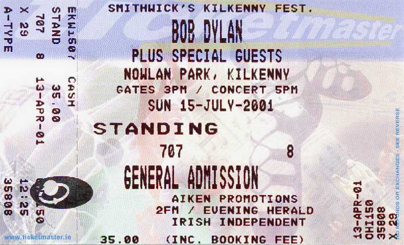 KILKENNY, IRELAND, JULY 15, 2001